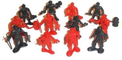 OTC 12 Plastic Firemen
