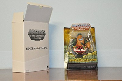 Mattel HeMan Masters of the Universe Classics Exclusive Action Figure SNAKE ManAtArms