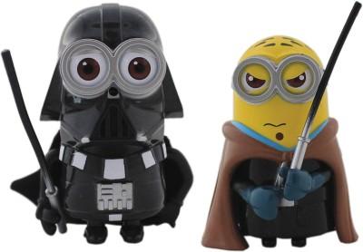 Tootpado Cartoon Space Wars Super Hero Action Figure Toys (1c326) - Pack of 2