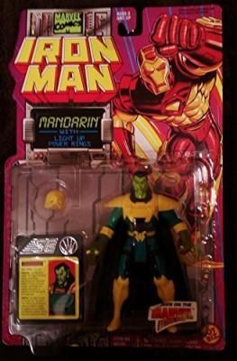 Iron Man Mandarin With Light Up Power Rings