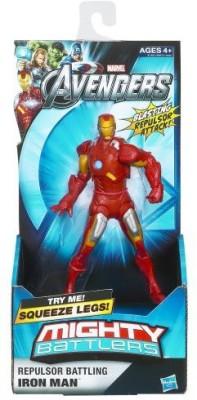 Hasbro Marvel The Avengers Mighty Battlers Repulsor Battling Iron Man