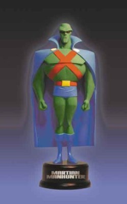 DC COMICS Justice League Animated Martian Manhunter Mini Maquette