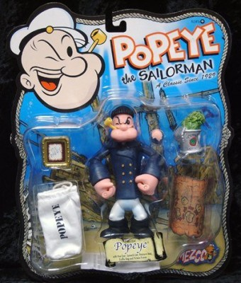 Popeye the Sailorman > Pea Coat Popeye Action Figure