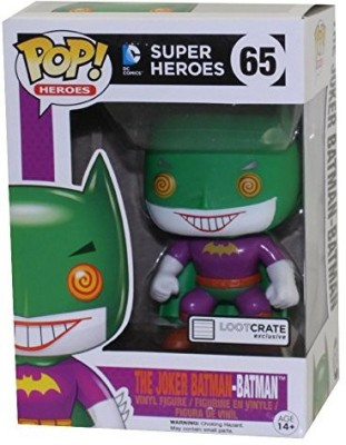 Pop! Heroes Funko Joker As Batman Pop Heroes Lootcrate