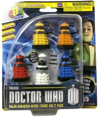 Doctor Who Character Builder Dalek Paradigm Micro 5Pack