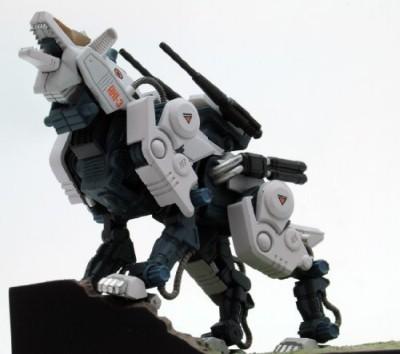 Tomytec Zoids Mss Mz008 Zoids Rhi3 Command Wolf