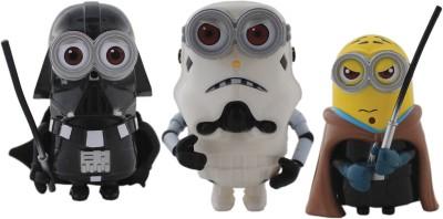 Tootpado Cartoon Space Wars Super Hero Action Figure Toys (1c332) - Pack of 3