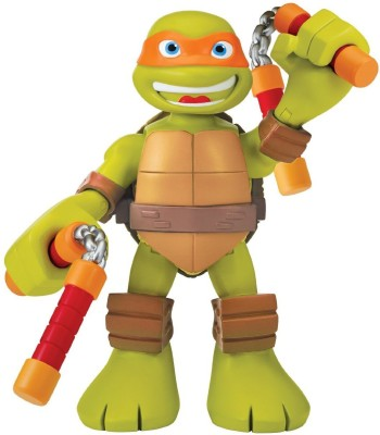 Teenage Mutant Ninja Turtles Teenage Mutant Ninja Turtles Pre-Cool Half Shell Heroes 6 Inch Michelangelo Talking Turtles Figure