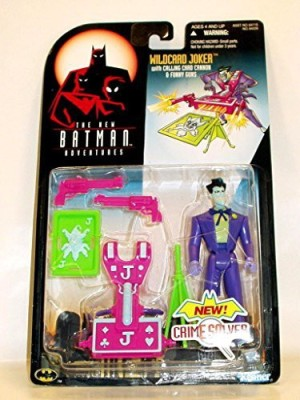 Batman The New Adventures Wildcard Joker With Calling Card Cannon