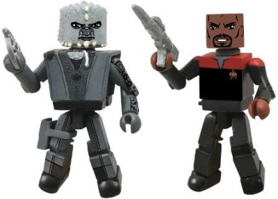 Diamond Select S Star Trek Legacy Minimates Series 1 Season 7 Captain