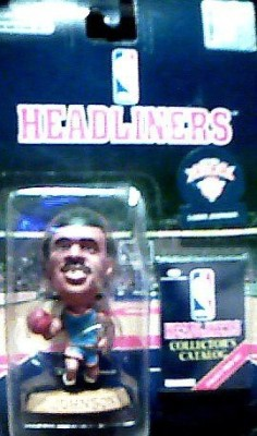 Corinthian Marketing New York Knicks Larry Johnson 1996 Headliners Nba