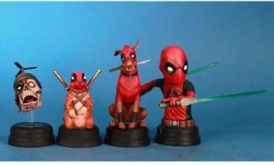 Gentle Giant Studios Deadpool Corps Mini Bust Boxed Set