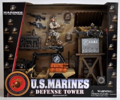 Marines Usmc Defense Tower With