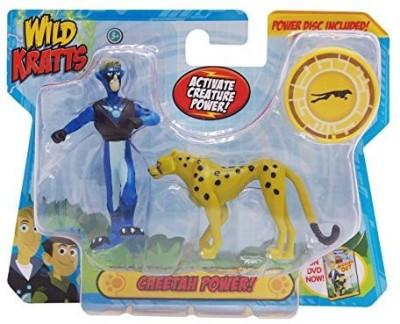Wicked Cool Toys Wild Krattsanimal Power Setcheetah Power
