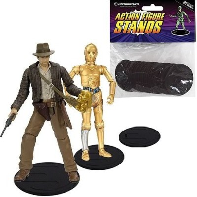 Entertainment Earth Action Figure Stand Pack of 25 Black Stands