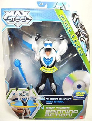 Max Steel 6 Inch Flight Suit Max With Dvd Turbo Flight