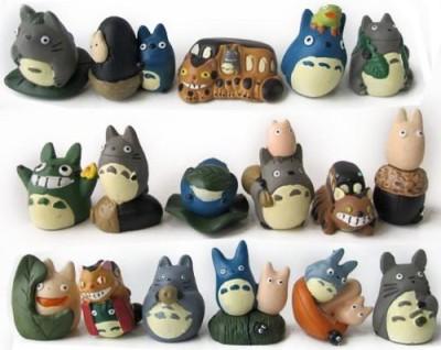 JapanCos My Neighbor Totoro Mini Set Of 17