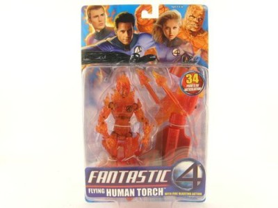Fantastic 4 Flying Human Torch Action Figure