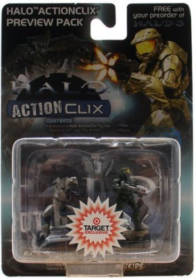WizKids Halo ActionClix Master Chief & Arbiter Figure Preview Pack