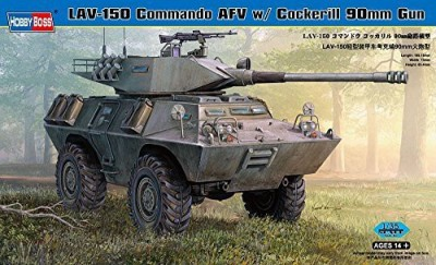 Hobby Boss Lav150 Commando Afv With Cockerill 90Mm Gun Vehicle Model
