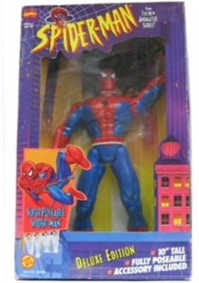 Spiderman Deluxe Edition Super Poseable