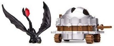 Spin Master Dreamworks Dragons, How To Train Your Dragon 2 Battle Pack - Toothless Vs Dragon Catcher