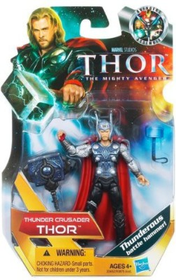 Hasbro Thor: The Mighty Avenger Action Figure #15 Thunder Crusader Thor 3.75 Inch