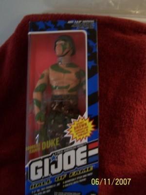 Hasbro 1993 Gi Joe Hall Of Fame Combat Camo Duke 12 Inches