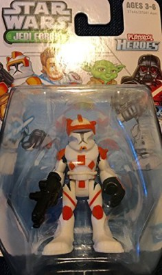 Playskool 1 X Star Wars Jedi Force Commander Cody ( Heroes)