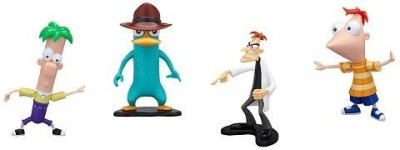 Disney Phineas And Ferb Pvc Collector Pack Phineasferbagent P