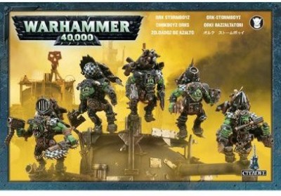 Games Workshop Ork Stormboyz Plastic Warhammer 40K New