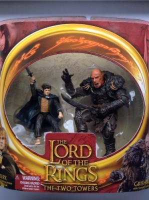 The Lord Of The Rings Two Towers Merry And Grishnakh 2Pack