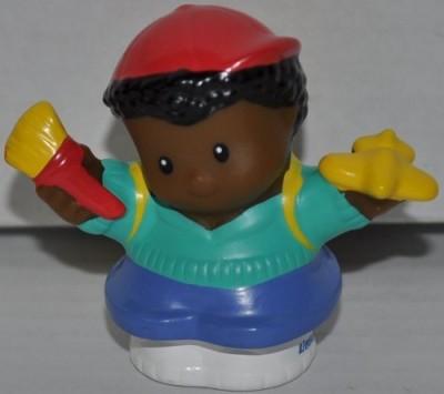 Little People Michael (Plane & Brush In Hands) School Boy