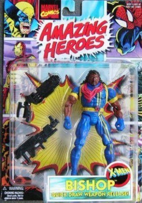 Toy Biz Bishop Xmen With Quickdraw Weapon Release 1997 Marvel