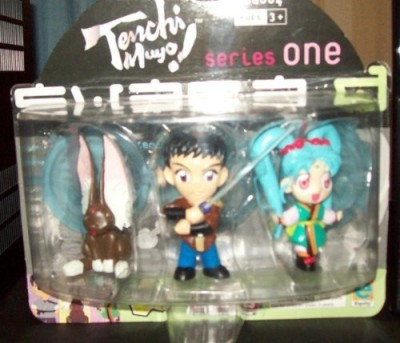 Tenchi Mujo Series One Super 3 Pack Anime