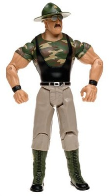 Jakks Pacific Wwf Wwe Wrestling Classic Superstars Series 2 Sgt Slaughter