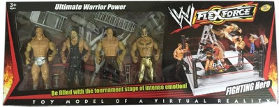 Krypton WWE Superstars - 4 Wrestling Action Figures /