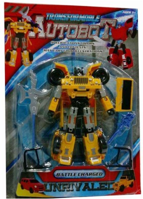 Turban Toys Battle Charged Transformable Autobot