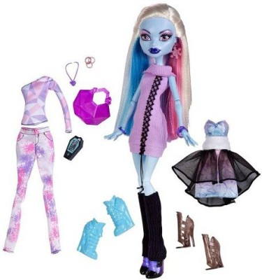 Monster High Exclusive Doll Abbey Bominable 3 Frosty Outfits