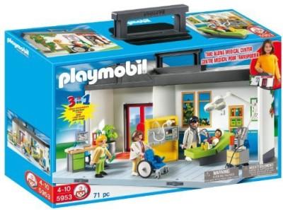 PLAYMOBILa Take Along Hospital Playset