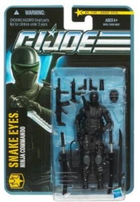 Hasbro Gi Joe Pursuit Of Cobra 3 3/4 Inch Snake Eyes Version 8
