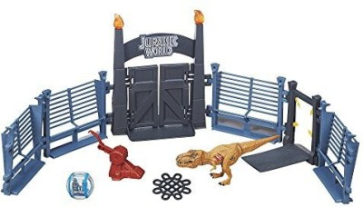 Jurassic Park World Tyrannosaurus Lockdown Playset