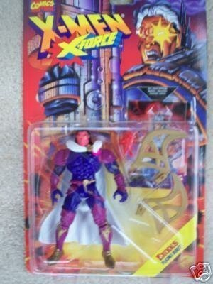 Toy Biz Exodus With Plasma Burst Xforce 1995 Marvel Comics