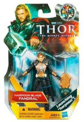Hasbro Thor The Mighty Avenger 08 Harpoon Blade Fandral 375 Inch