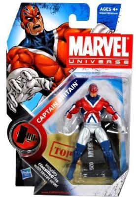 Marvel Universe 3 3/4 Inch Series 10 Captain Britain