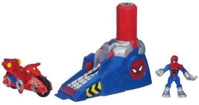 Spiderman Playskool Heroes Adventures Racing Launcher