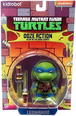 Kidrobot Teenage Mutant Ninja Turtles Ooze Glow In The Dark Series