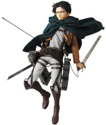 Medicom Attack On Titan Levi Real Hero