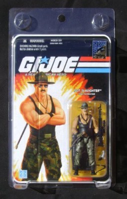 G I Joe Sgt Slaughter Ttt Variant 2010 Sdcc