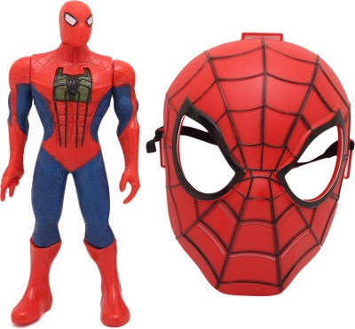 Babytintin Big spiderman type action figure with , light, sound